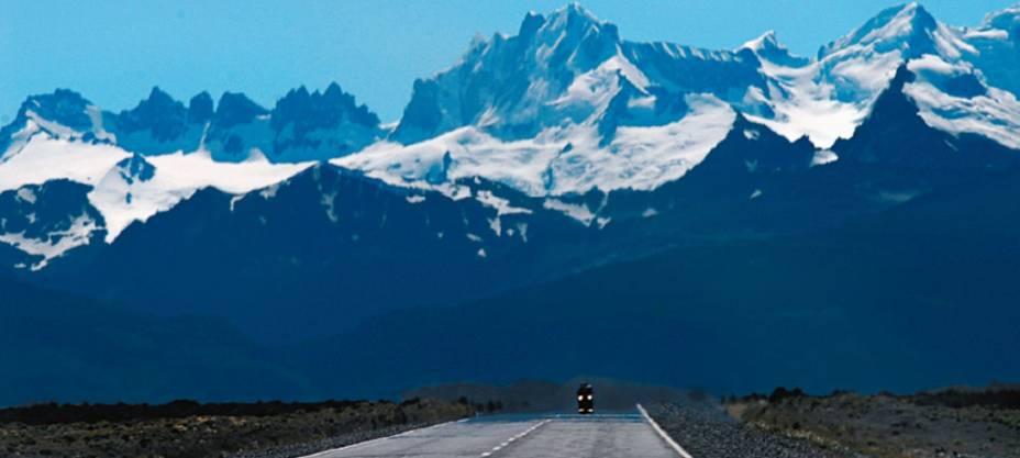 A mítica Ruta 40 atravessa a Argentina de norte a sul