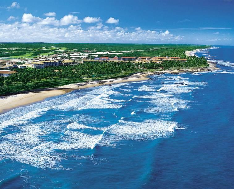 Os resorts e as pousadas temáticas consagraram a Costa do Sauipe (BA) como um grande destino turístico nacional