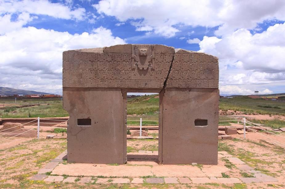 A poucos quilômetros do centro de La Paz está Tiwanaku - um sítio arqueológico com ruínas de templos construídos há mais de mil anos