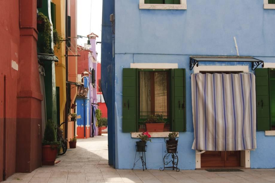 Casas da Ilha de Burano, Veneza