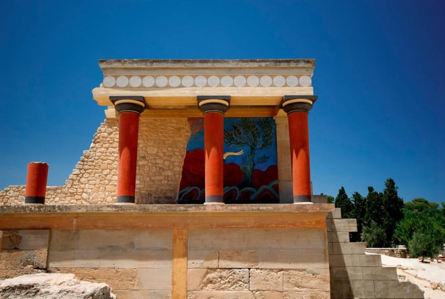 Ruínas de Cnossos, em Creta