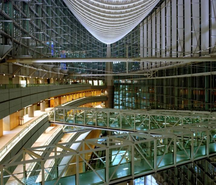O Fórum Internacional de Tóquio é um moderno espaço multiuso utilizado para concertos, eventos comerciais e culturais em um moderníssimo espaço no centro da cidade