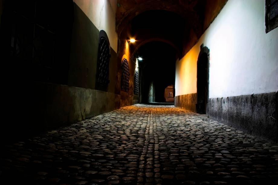Ruas do Centro de Liubliana