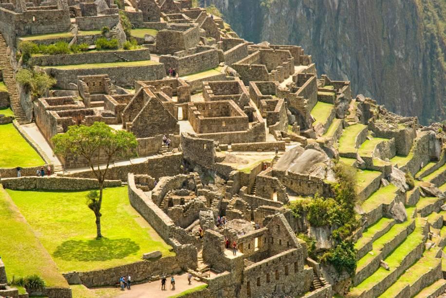 A misteriosa cidade sagrada de Machu Picchu foi construída pelos incas há cerca de 600 anos