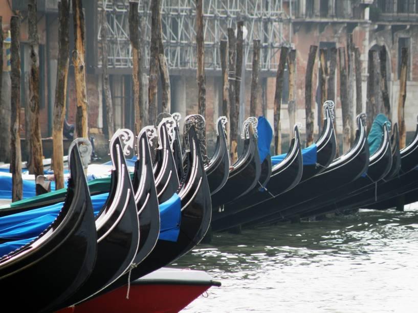 Gôdolas de Veneza