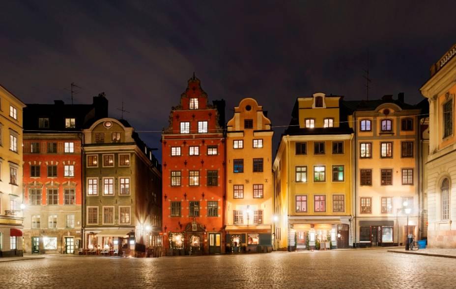 Uma das mais antigas praças de Estocolmo, Stortoget encontra-se em Gamla Stan, o Centro Velho. Apesar de sua importância no centro de uma capital europeia, ela não possui as dimensões e suntuosidade de suas semelhantes