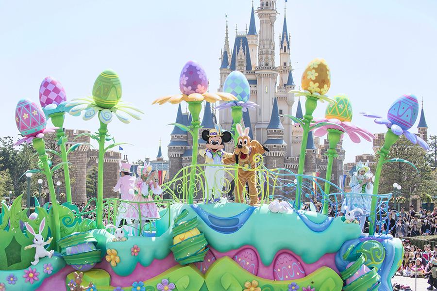 Parada no Japão (Foto: Disney Parks Blog)