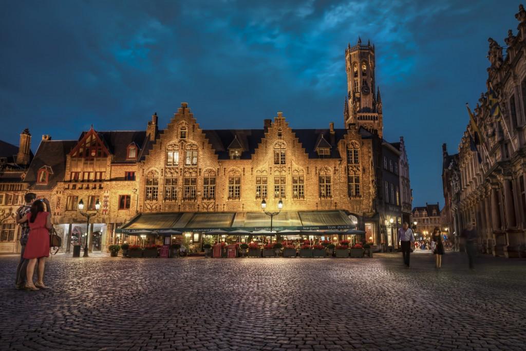 O Centro Histórico de Bruges também é Patrimônio da Humanidade (Foto: jacobsurland/Flickr/Creative Commons)