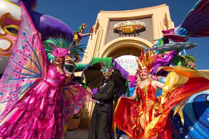 Mardi Gras, Universal Orlando Resort, Flórida, Estados Unidos