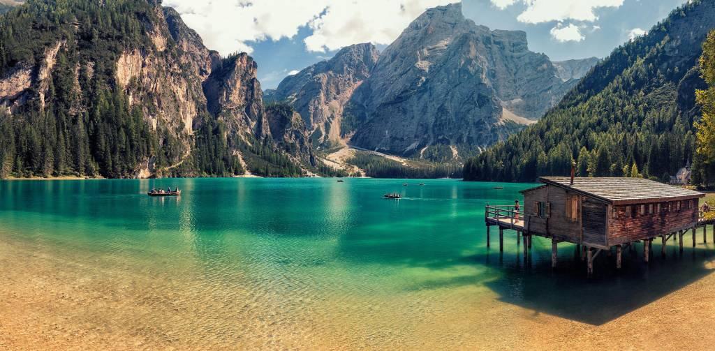 Lago di Braies - Itália