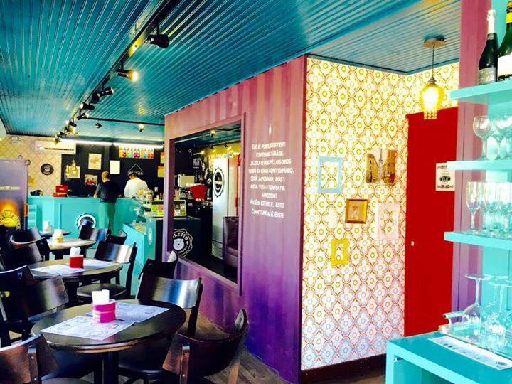 O moderninho Container Café e Bistrô / Divulgação