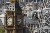 London Eye e Torre do Parlamento, Londres, Inglaterra