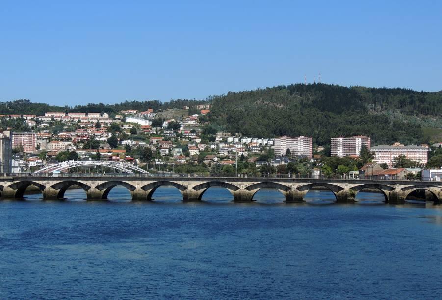Ponte de Sabntiago, em Pontevedra