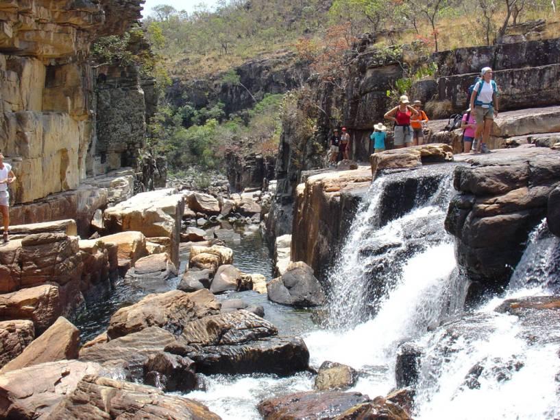 O melhor período para fazer trekking da Chapada dos Veadeiros (GO), é de outubro a abril, quando as temperaturas estão mais amenas
