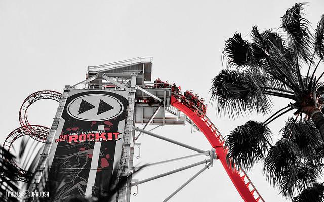 Hollywood Rip Ride Rockit, Universal Studios, Orlando, Florida, Estados Unidos