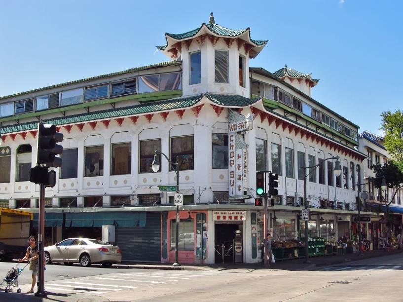 Chinatown é um dos bairros de imigrantes mais antigos dos Estados Unidos