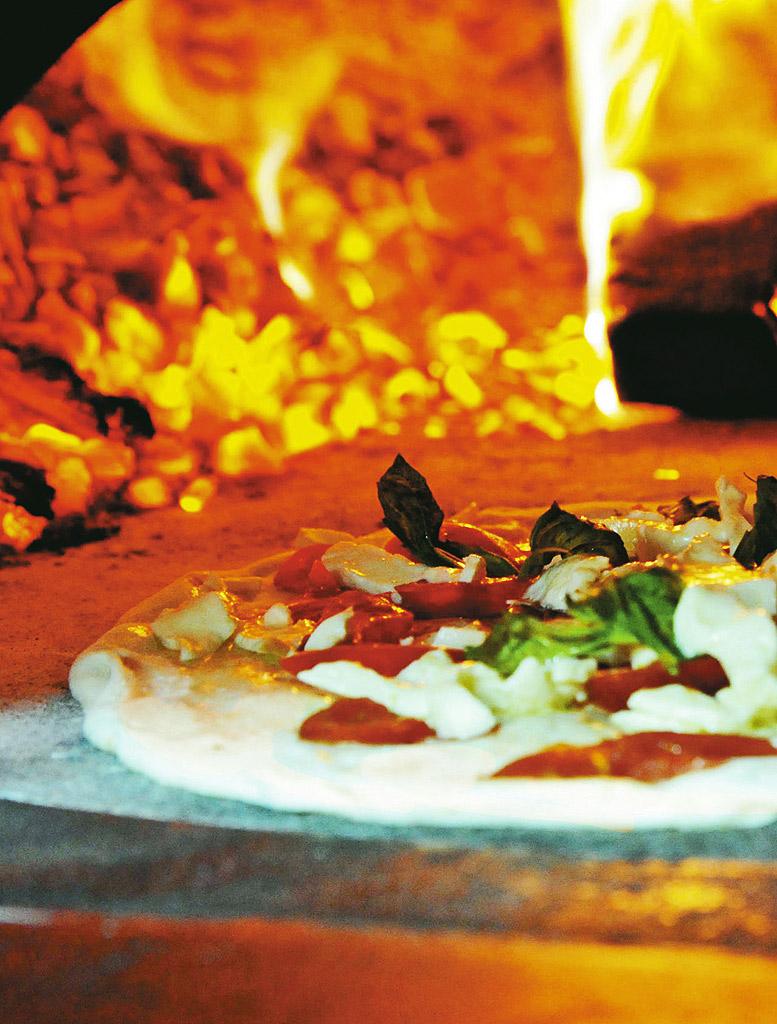 Pizza margherita da Pizzaria Brandi, Nápoles, Itália
