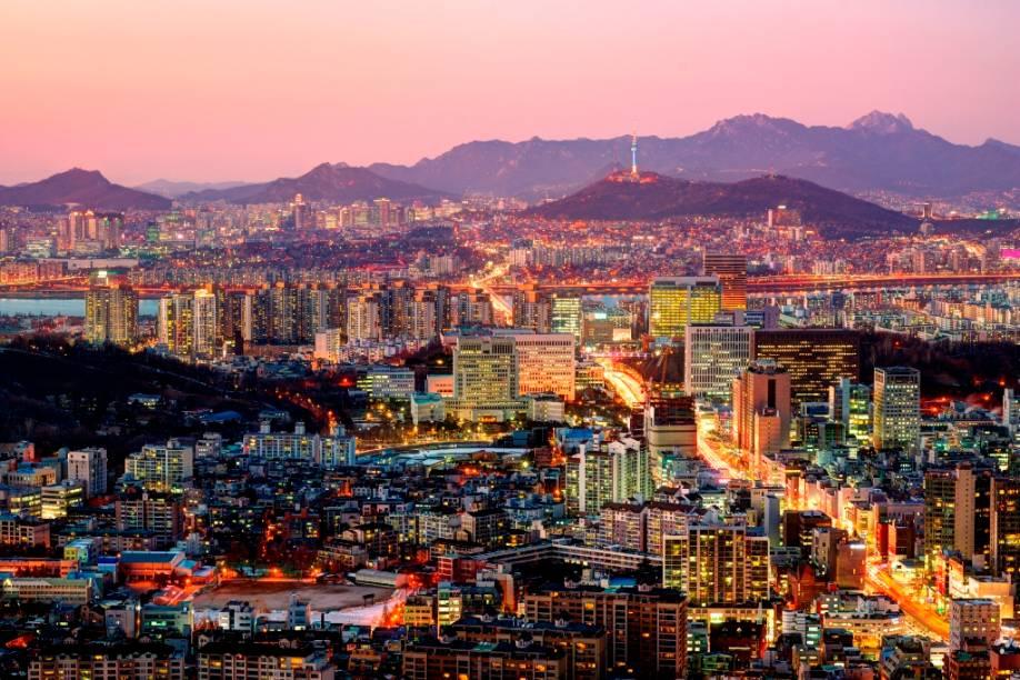 Vista geral de Seul