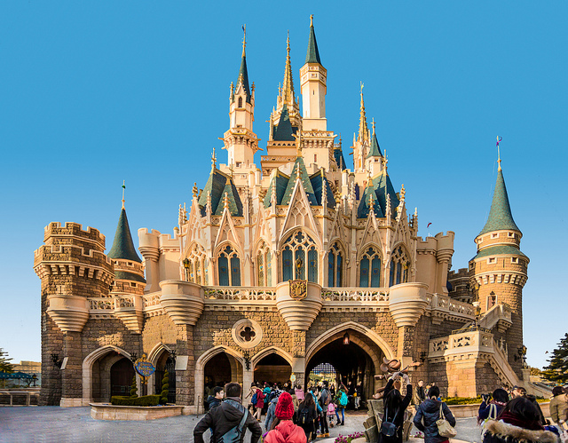 Castelo da Tokyo Disneyland (Foto: Flickr | Creative Commons - CC BY 2.0 | Peter Cartledge)