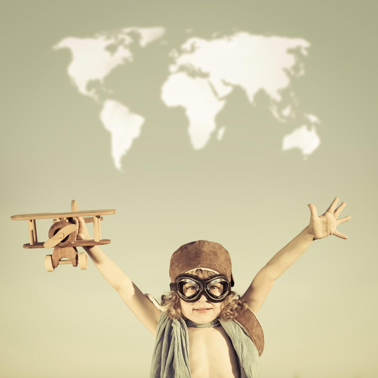 Por um mundo com mini viajantes melhores [crédito: Thinkstock]