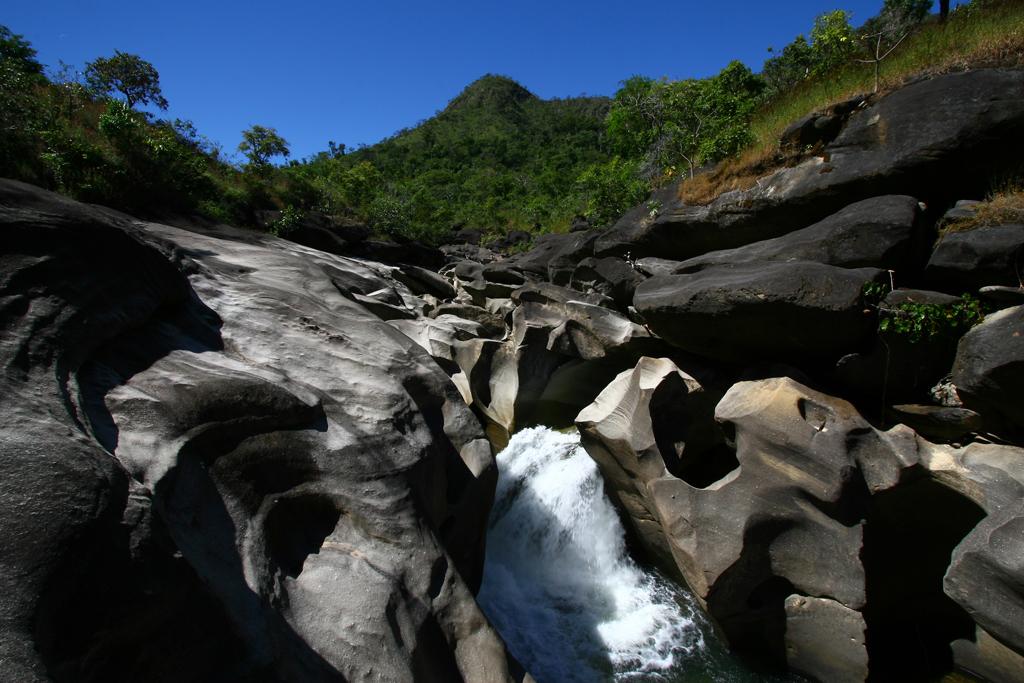 Vale da Lua, na Chapada dos Veadeiros, no município de Alto Paraíso de Goiás