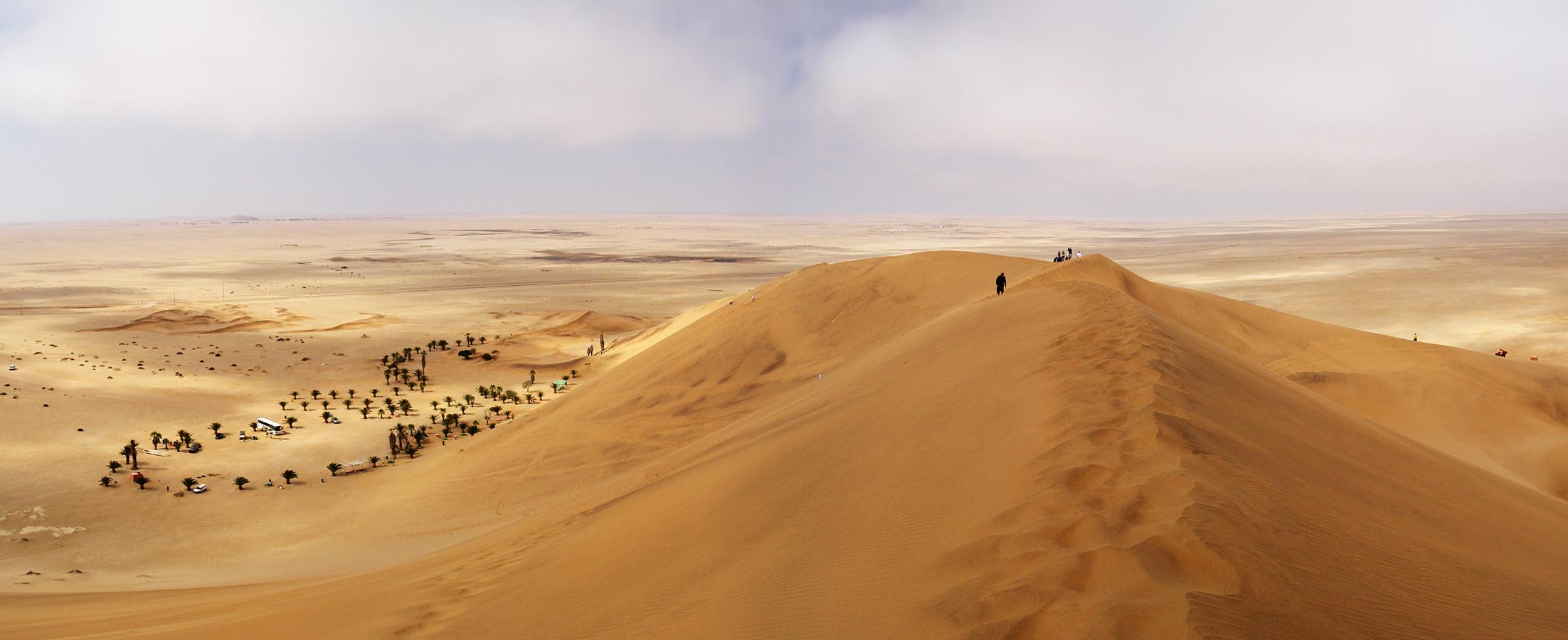 Deserto da Namíbia (Foto: Damien du Toit/Flickr/Creative Commons)
