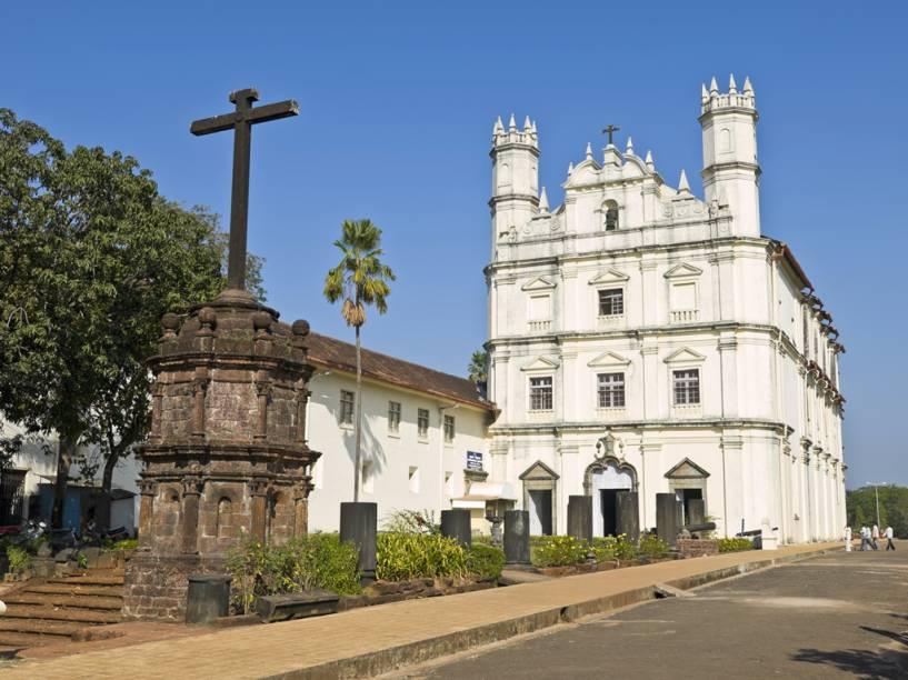 Antiga Catedral da Sé de Goa, antiga colônia portuguesea na Índia