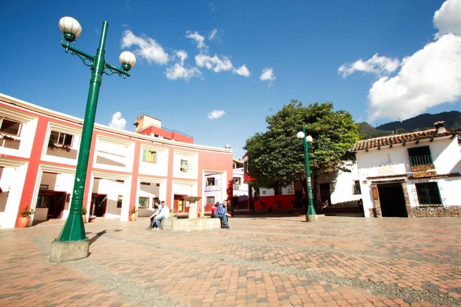 La Candelaria é um bairro histórico, declarado Monumento Nacional