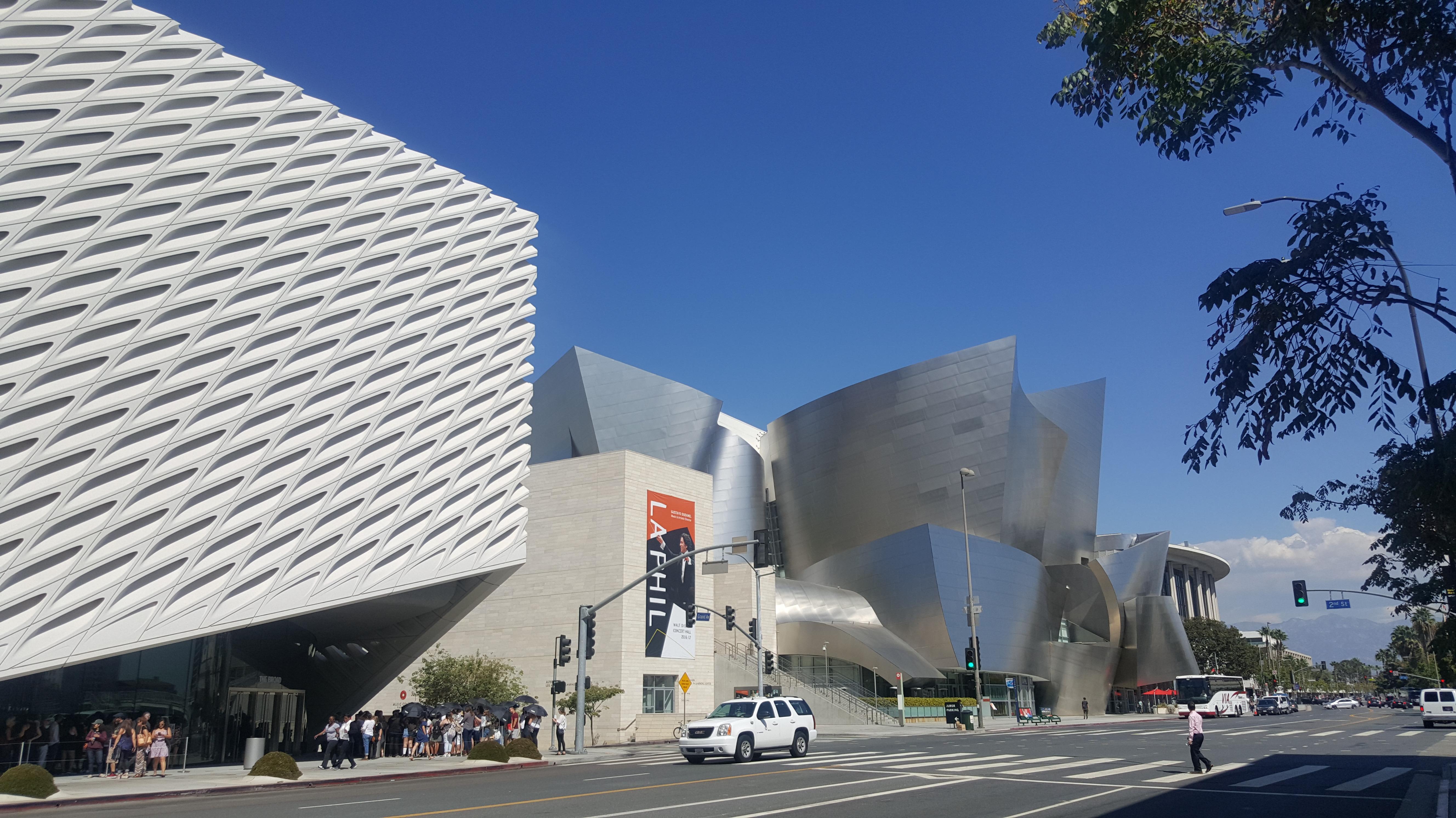 The Broad e Disney Concert Hall, uma das dobradinhas arquitetônicas mais espetaculares