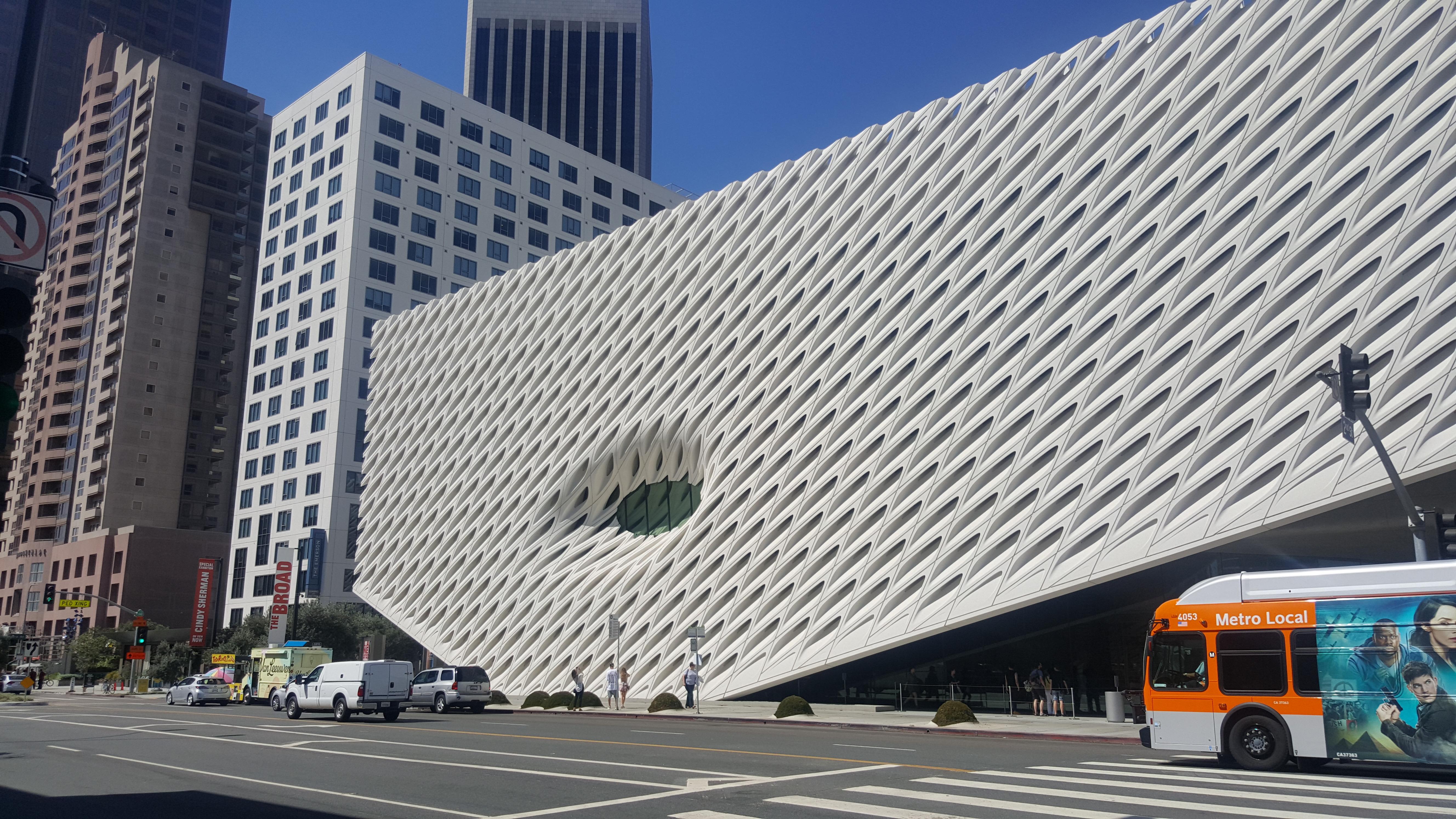 O novo museu The Broad, a bola da vez em Los Angeles