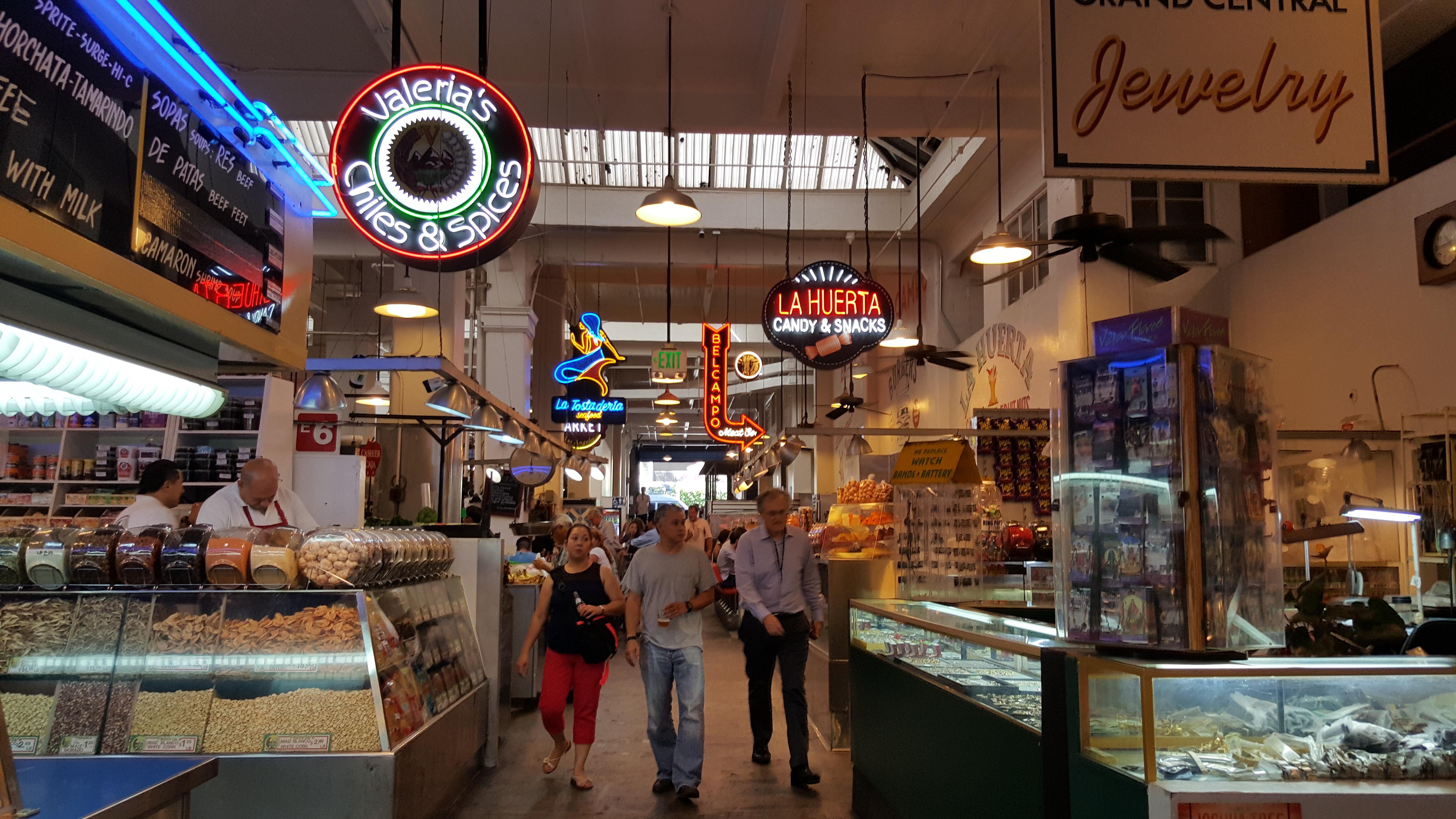 O Grand Central Market reformado: o lugar para almoçar em Downtown