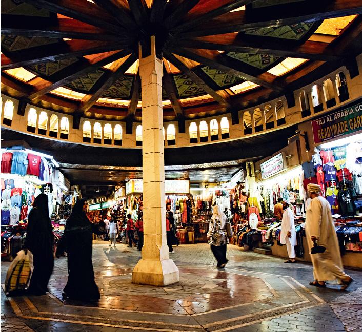 O souk de Mettrah, templo das boas compras em Omã