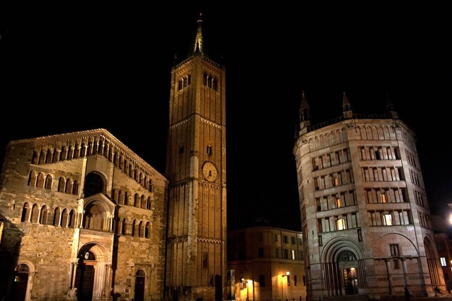 Piazza Duomo à noite