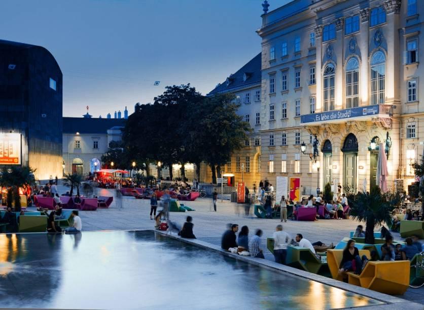 Quarteirão dos Museus, em Viena