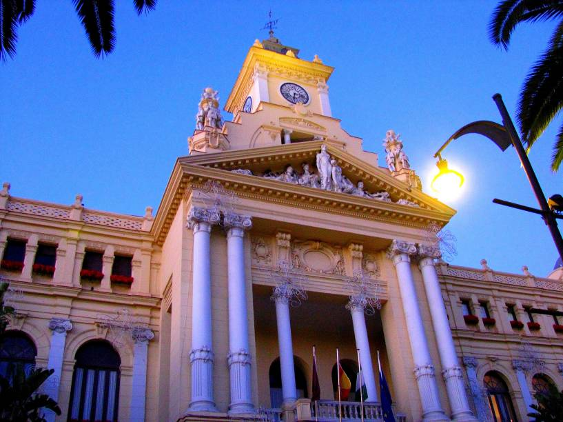 Prédio da prefeitura de Málaga