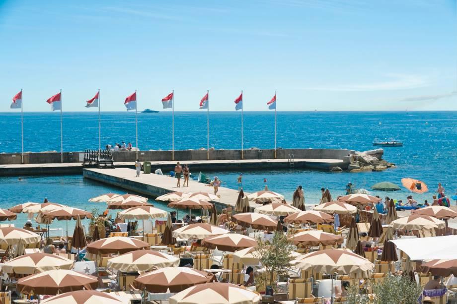 O Mediterrâneo de Mônaco, onde até os guarda-sóis são estrelados