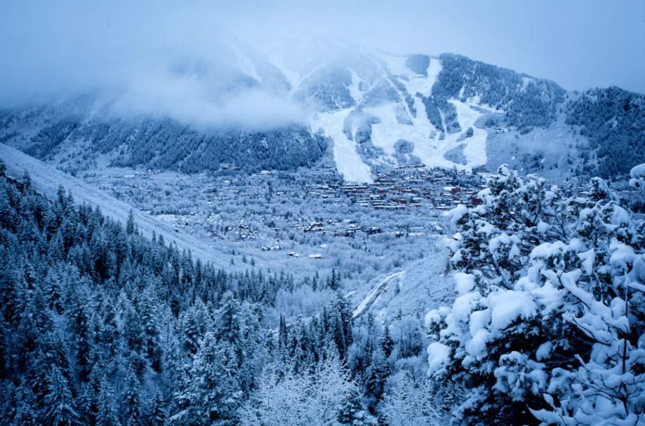 A região de Aspen tem se popularizado cada vez mais como destino de esqui de brasileiros