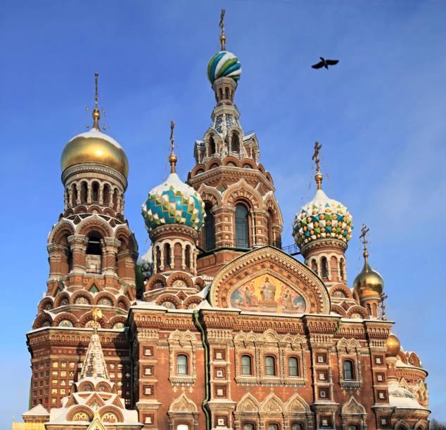 A Catedral do Sangue Derramado, um dos cartões-postais de São Petersburgo, foi palco do assassinato de Alexandre II por terroristas, em 1881