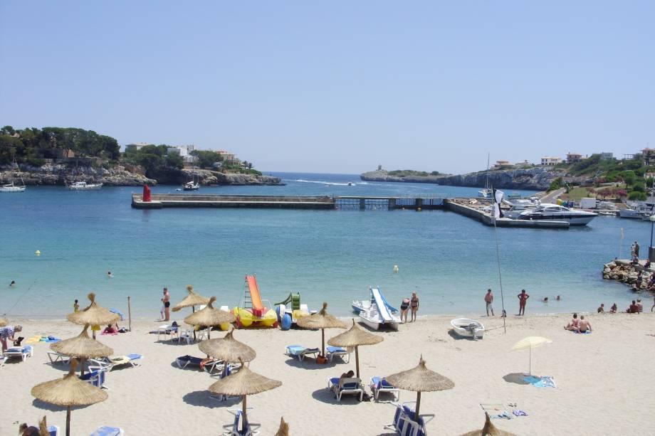 A ilha é um popular destino de férias para os europeus