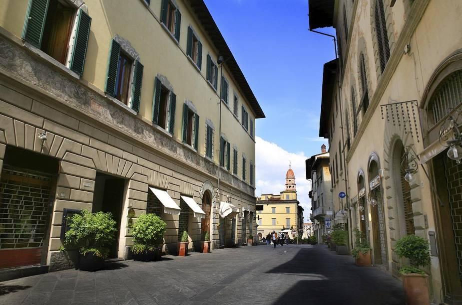 O programa preferido dos arentini (o nome dado aos nascidos em Arezzo) é passear e fazer compras na charmosa Corso Italia - uma das principais ruas da cidadezinha