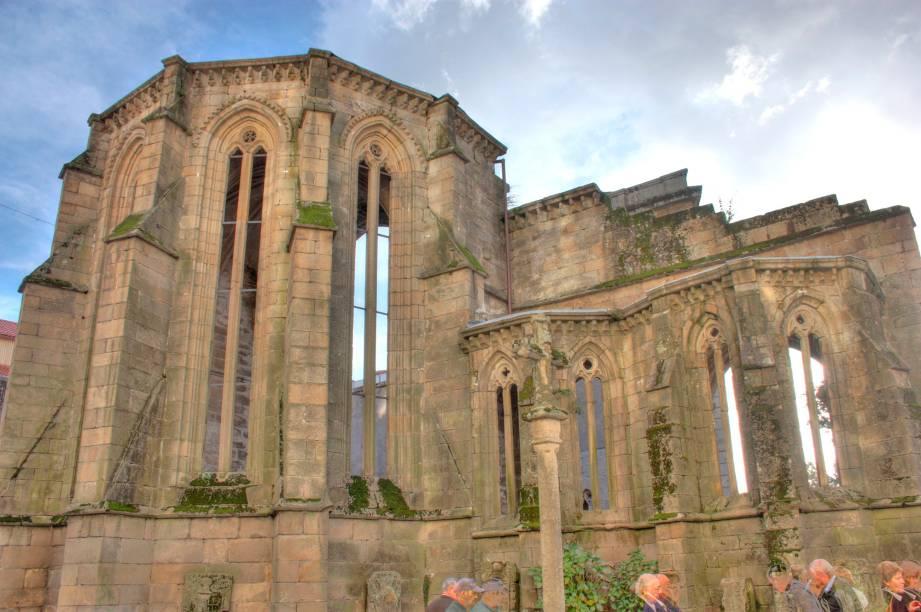 As construções e ruínas medievais são marca registrada de Pontevedra