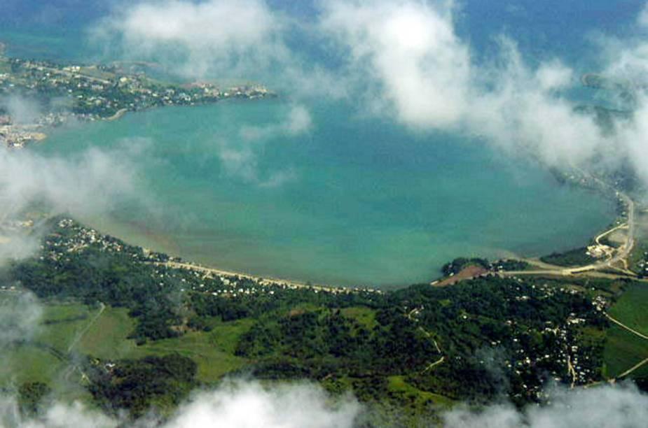Vista aérea de Montego Bay