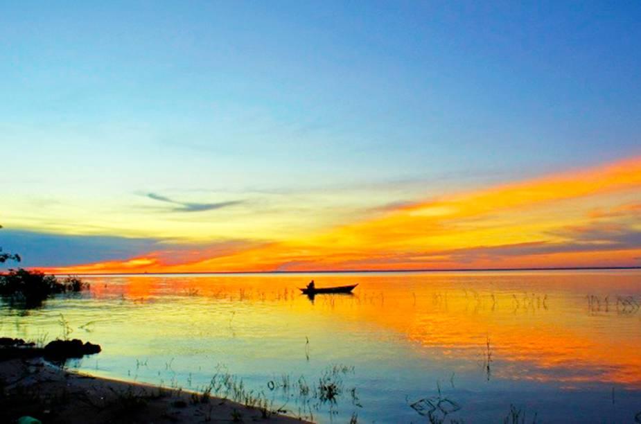 A tranquila aldeia de pescadores de Alter do Chão, no Pará, é um paraíso de água doce