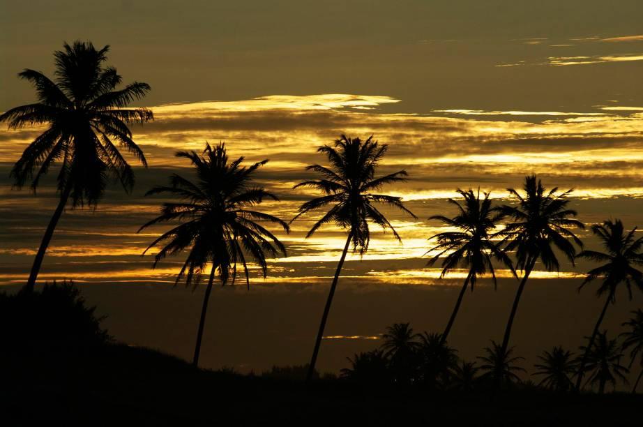 Final da tarde em Cumbuco