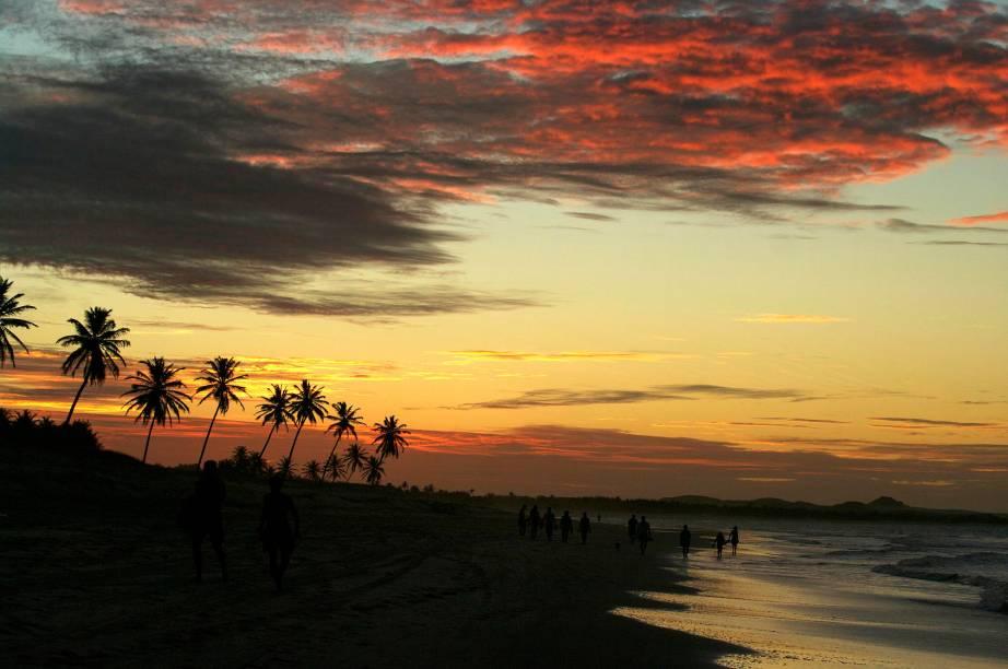 Cumbuco faz parte da Rota do Sol Poente no Ceará