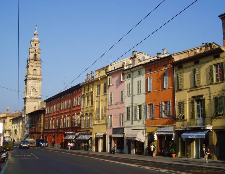 Strada della Repubblica, em Parma