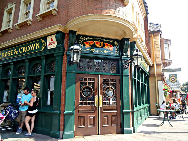 Rose & Crown Pub (Foto: Flickr - Creative Commons (CC BY-NC-ND 2.0) - stephh922)