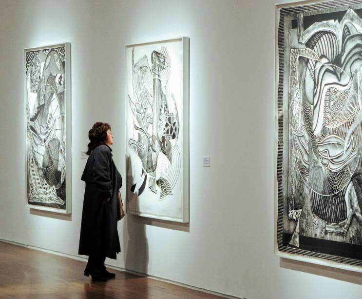 Ala do Malba, o Museo de Arte Latinoamericano de Buenos Aires, em Palermo. O museu expõe obras de artistas do século 20 e contemporâneos, como Tarsila do Amaral, Diego Rivera, Frida Kahlo e Portinari