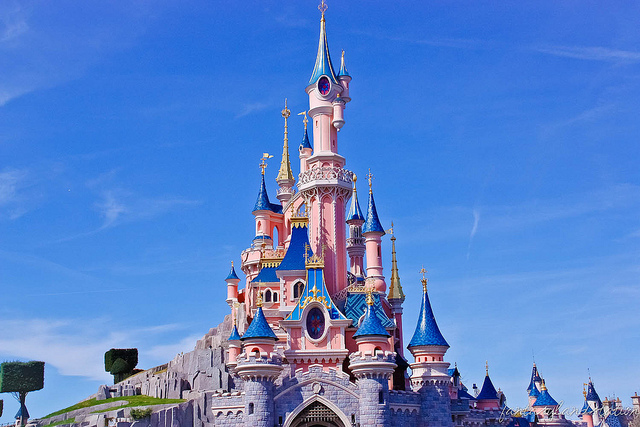 Castelo da Bela Adormecida na Disneyland de Paris (Foto: Flickr | Creative Commons - CC BY-NC-ND 2.0 | Fantasyland Station)
