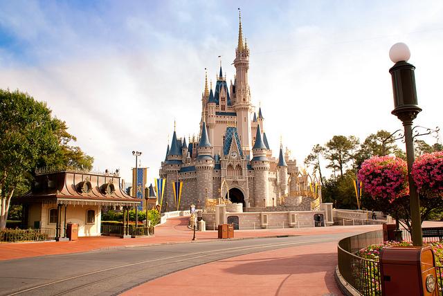 Castelo da Cinderela do Walt Disney World, no Magic Kingdom (Foto: Flickr | Creative Commons - CC BY-NC 2.0 | mocajomiso)